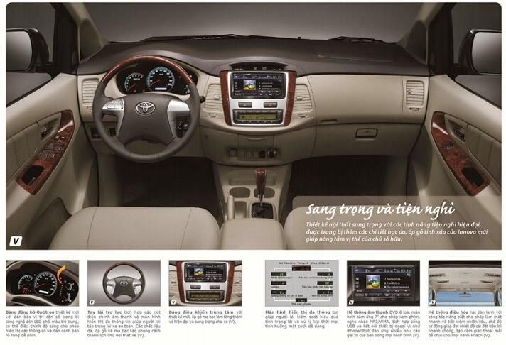 noi that toyota innova - Toyota Innova 2015: Chiếc xe tuyệt vời cho gia đình - Muaxegiatot.vn