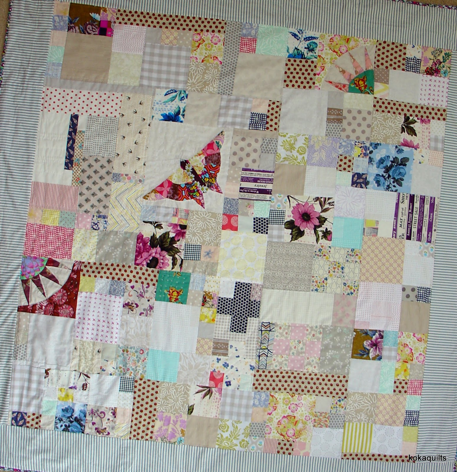 kokaquilts 2017 Finished Quilts