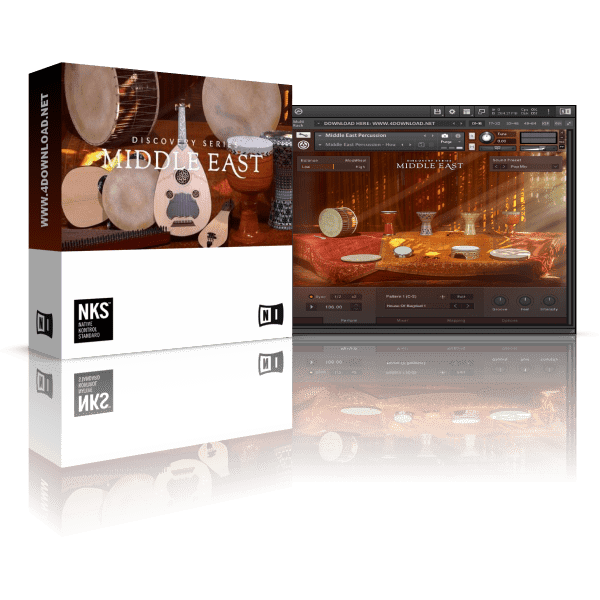Native Instruments Discovery Series Middle East KONTAKT Library