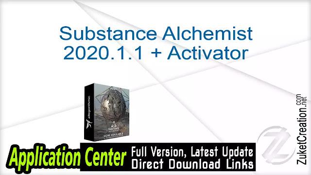 Substance Alchemist 2020.1.1 + Activator