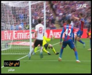 """فيديو """"لينجارد يهدى لمانشستر يونايتد لقب كاس الاتحاد الانجليزي على حساب كريستال بالاس"""