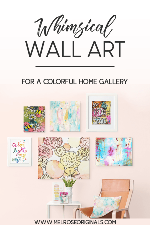unique colorful wall art for your home gallery