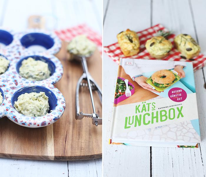 Zucchini-Kürbiskern-Muffins