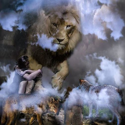 The Lion of the Tribe of Judah by Deborah Waldron Fry