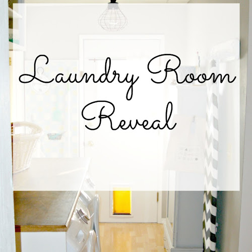Laundry Room Redo - Final Reveal