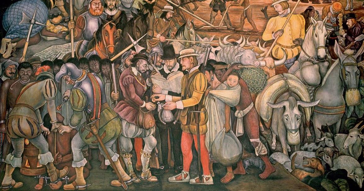 Atiliohistoria2 el desembarco de los espa oles en for El mural aviso de ocasion