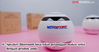 Souvenir Speaker Bluetooth bisa bikin pelanggan makin setia dengan produk anda