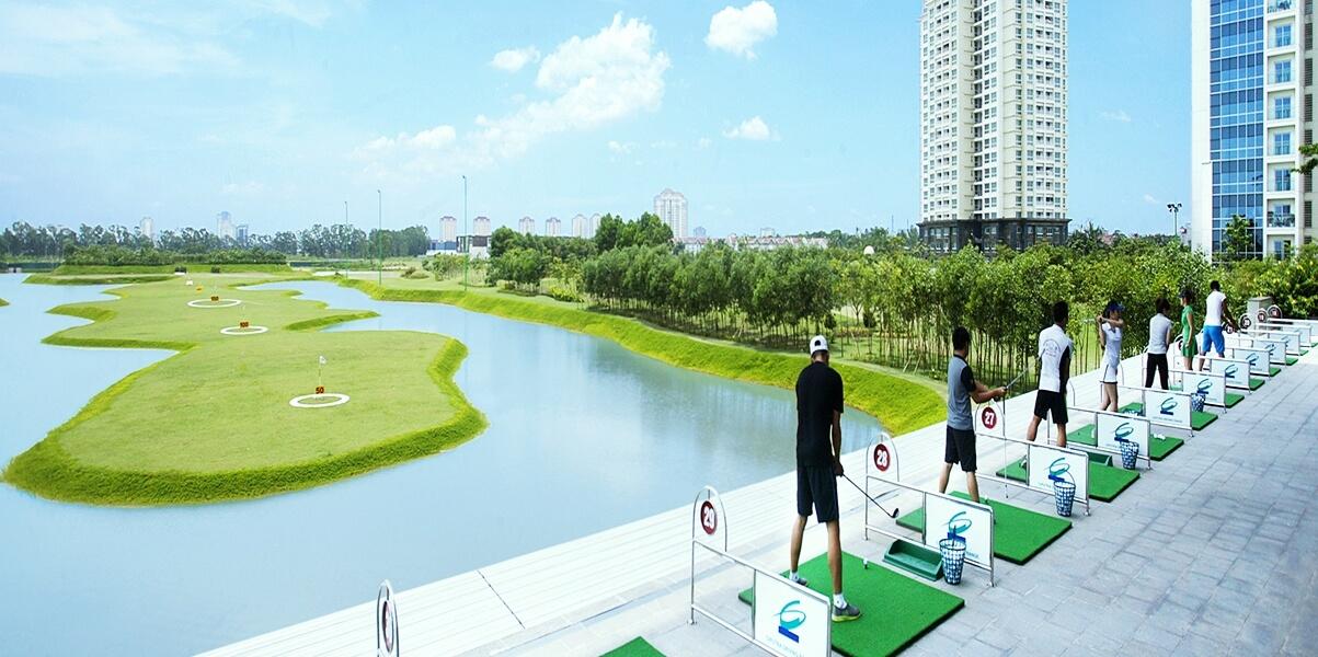Sân golf đẳng cấp của Ciputra Hà Nội