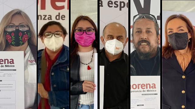 Se registran aspirantes a diputados federales de Morena en distritos yucatecos