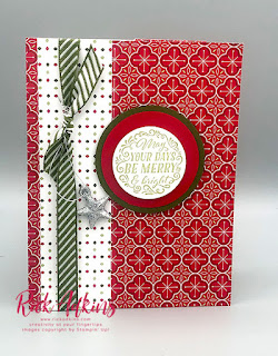 Learn how to make a gift card holder from Designer Series Paper perfect for the Holiday Season!  Click here to learn more