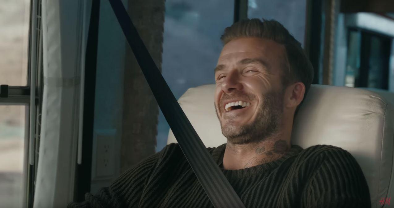 Canzone H&M con David Beckham Pubblicità