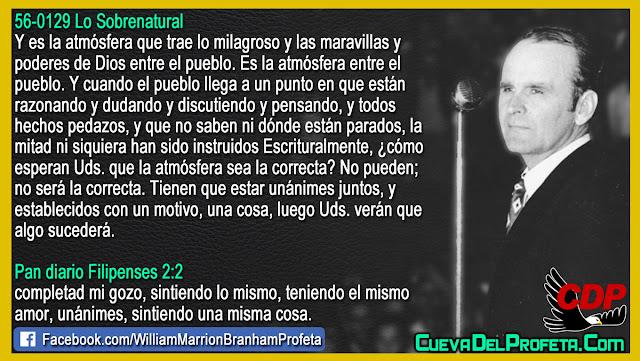 La atmósfera espiritual correcta - William Marrion Branham en Español