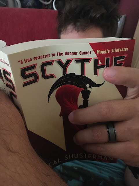 Best Book Series for Men Who Don't Like to Read - Scythe by Neal Shusterman