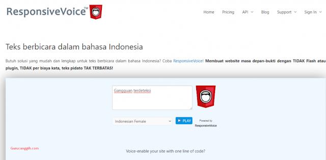 Text to Speech Online Berbahasa Indonesia
