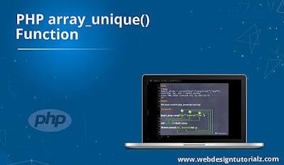 PHP array_unique() Function