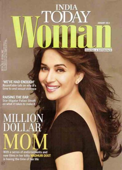 Madhuri Dixit Featured On The Cover Of India Today Woman
