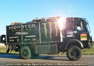 Monster Energy - Dakar2009