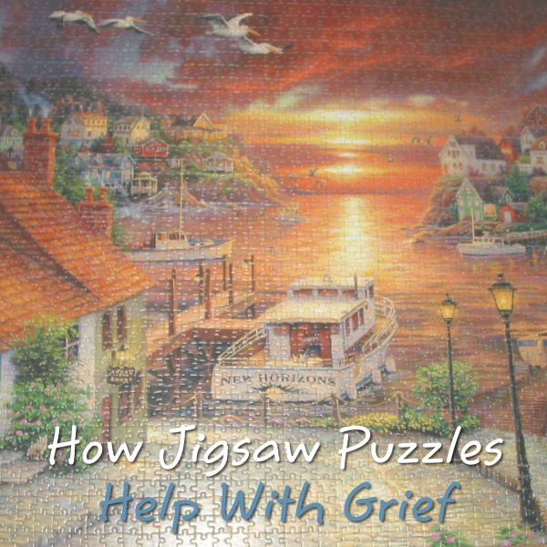 Taking Up a Jigsaw Puzzle Hobby to Help With Grief, Loss and Bereavement how jigsaws and puzzles help with grieving death of someone