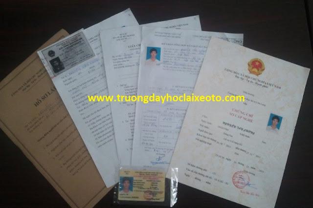 hồ sơ đăng ký học lái xe ô tô tại hà nội
