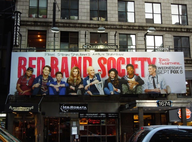 Red Band Society season 1 billboard NYC