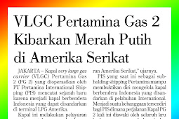 VLGC Pertamina Gas 2 Raises Red and White in the United States