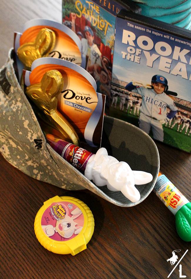 A cowboys life baseball themed easter basket this easy and fun baseball themed easter basket is great for sports fan i like using the hat as the basket because its useful and wont be thrown in the negle Images