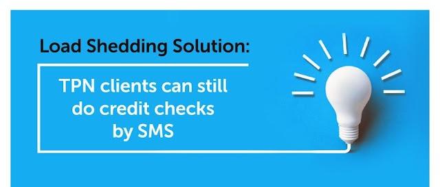 No power? No problem! Perform your credit checks via SMS