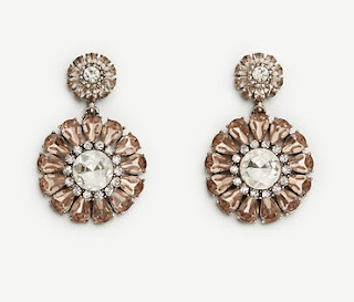 Ann Taylor Floral Drop Earrings $20 (reg $50)