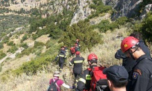 Τραυματισμένος ανασύρθηκε από χαράδρα όπου έπεσε, στην περιοχή του Ζαγορίου, ένας 80χρονος.