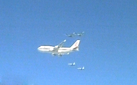 Six JF17 Thunder Fighter Jets Escort Chinese Premiers Boeing 747  Pakistan Military Review
