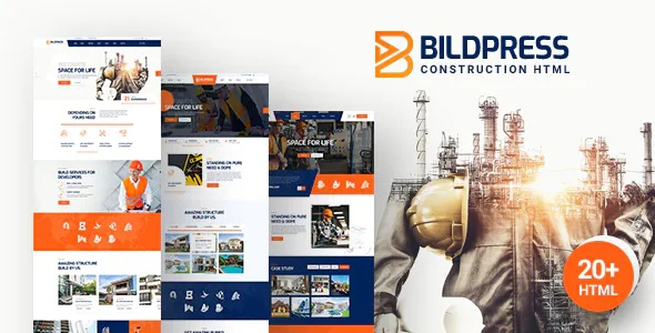 Best Construction & Architecture HTML Template