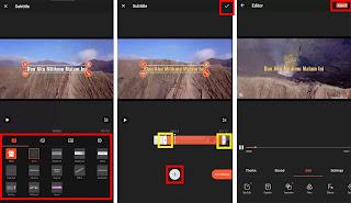 Cara Membuat Vlog Video Lirik Dari Android