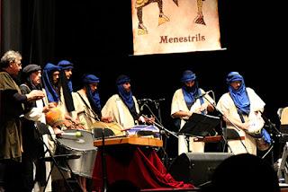 menestrils concert