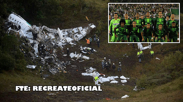 Chapecoense sufre fatal accidente aéreo1