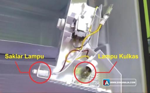 Cara Memperbaiki Lampu Kulkas Mati