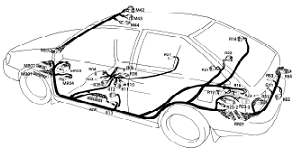 1991 Hyundai Excel Wiring Diagram ~Owner Pdf Manual