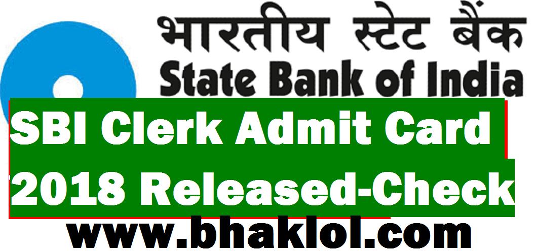 sbi clerk online exam 2014 admit card download