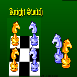 Chess Game: Knight Switch