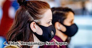 Tidak Mengganggu Saat Napas merupakan syarat masker kain bisa untuk cegah penularan virus