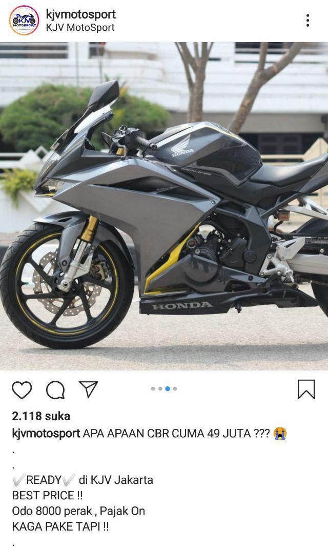 Motor Sport Bekas Murah Jakarta : motor, sport, bekas, murah, jakarta, Motor, Bekas, Honda, Termurah, Semarang, Inukotovlog.com