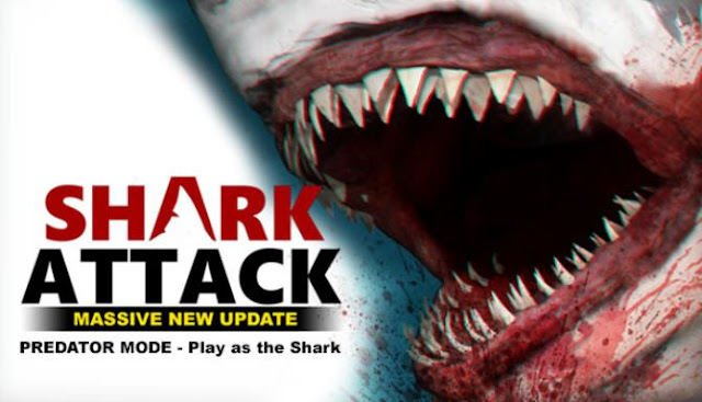 Before you the game Shark Attack Deathmatch 2 is very cruel and merciless, you will find a lot of blood, adrenaline and other feelings.