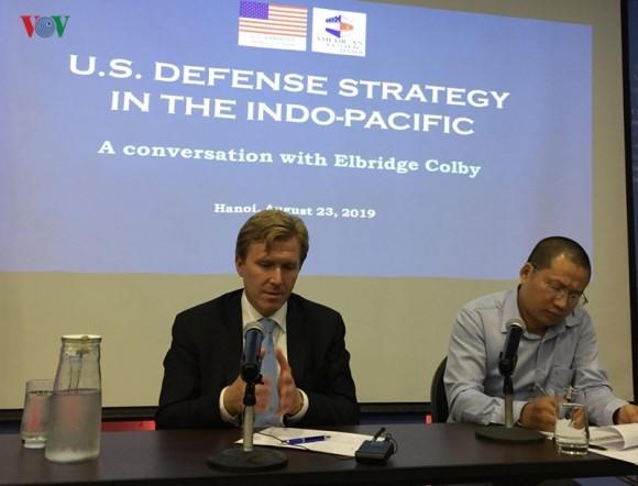 Mỹ ủng hộ Việt Nam bảo vệ chủ quyền ở Biển Đông
