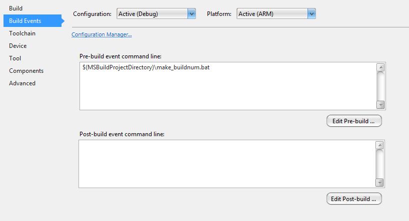 alex_van_gee: Autoincrementing build number in Atmel Studio