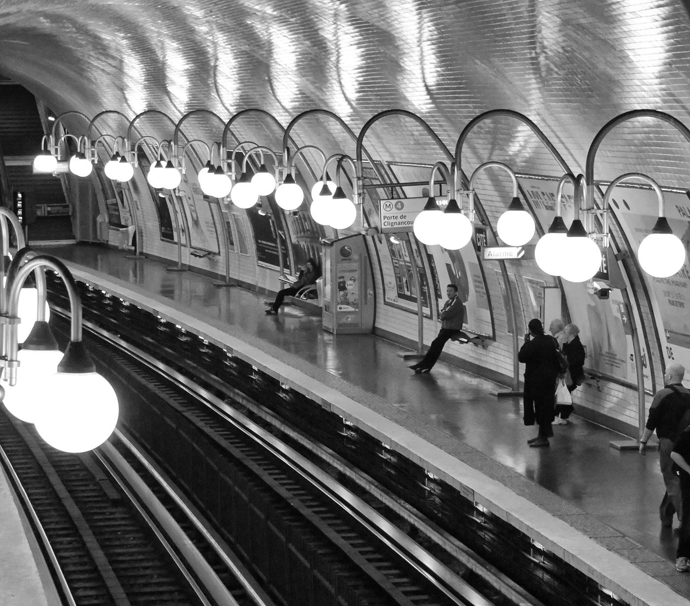 Paris fvdv de parijse metro 116 jaar historie en design deel 1 - Tegel metro parijs ...