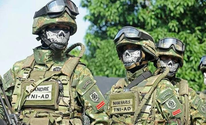 TNI dari Sat 81 Gultor Kopassus Punya Seragam Baru SAMAR