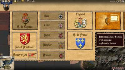 اختيارات في العبة تلاتون عاماً من الحرب Thirty Years War