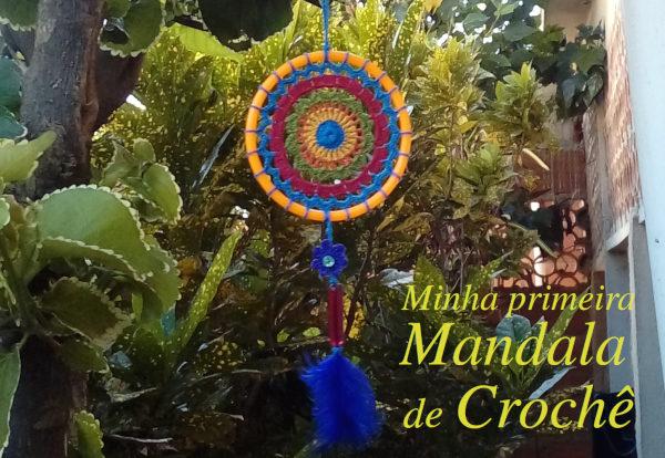 Mandala de Crochê reaproveitando Linhas e Miçangas + Gráficos