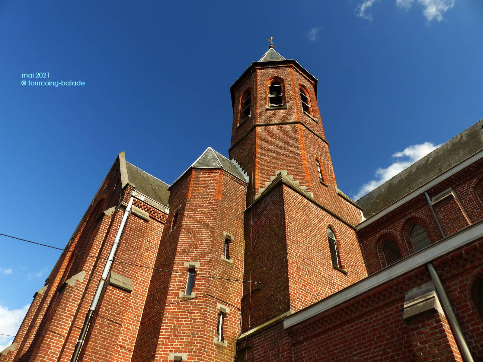Chapelle Saint-Antoine de Padoue, Mouscron, Belgique, en 2021