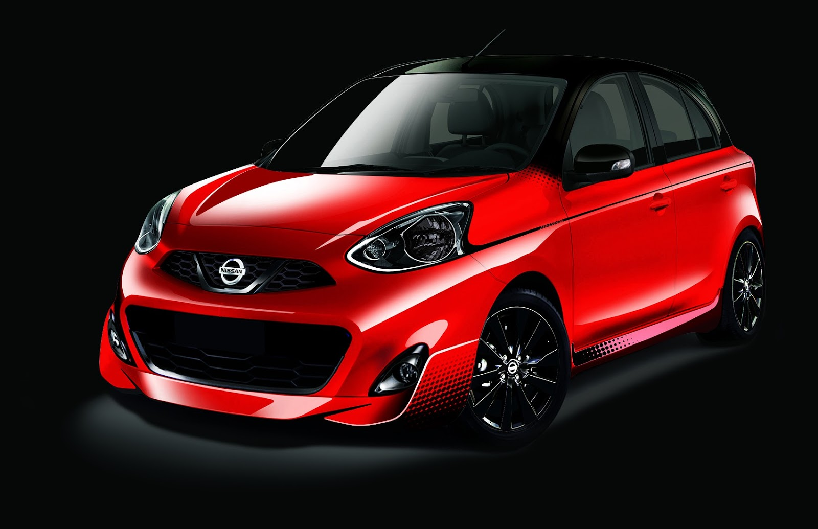 Nissan March Tuning >> Nissan March Midnight Edition Brings Bold Styling To Brazil