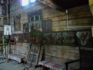 Ужгород. Музей народной архитектуры и быта. Церковь святого Архистратига Михаила
